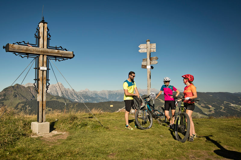 Biken in Saalbach Hinterglemm, Bike Verleih, Sport Hagleitner, Sommer, Sommerurlaub, Bike, Rad, Mountainbike, Mountainbiketouren, Bike-Guiding, E-Bike, E-Bike-Tour, Fotorechte: © Saalbach, Mirja Geh