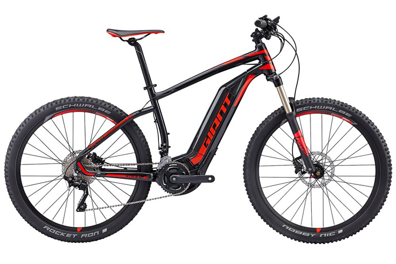 E-Bike-Dirt-E-plus-1-Anthracite-red-Sport-Hagleitner, Bikeverleih, Bike, Sommer, Urlaub, Saalbach Hinterglemm