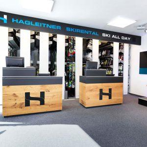 Sport Hagleitner, Geschäft, innen, Beratung, Sportshop, Saalbach Hinterglemm, Salzburger Land, Skirental, Verleih